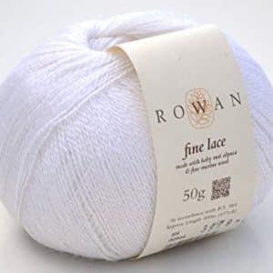 promoções Promoções Rowan Fine Lace 944 White 300x300