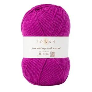 promoções Promoções Rowan Pure Wool Worsted 100g Magenta