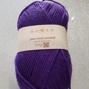 promoções Promoções Rowan Pure Wool Worsted 100g Plum 300x300