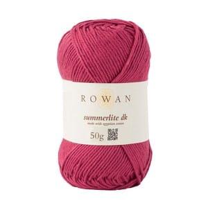 promoções Promoções Rowan Summerlite DK 50g rouge