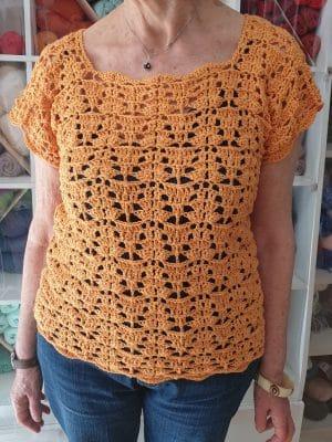 camisola  em crochê  feito por uma cliente Camisola  em crochê  feito por uma cliente 20190528 175554 300x400